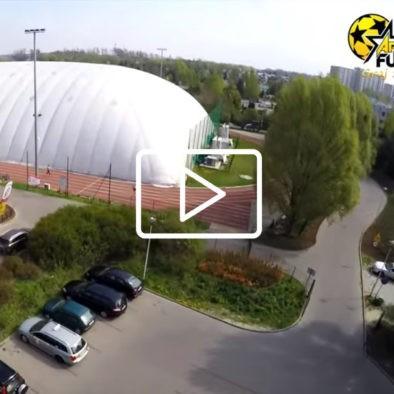 Arena futbolu z lotu ptaka